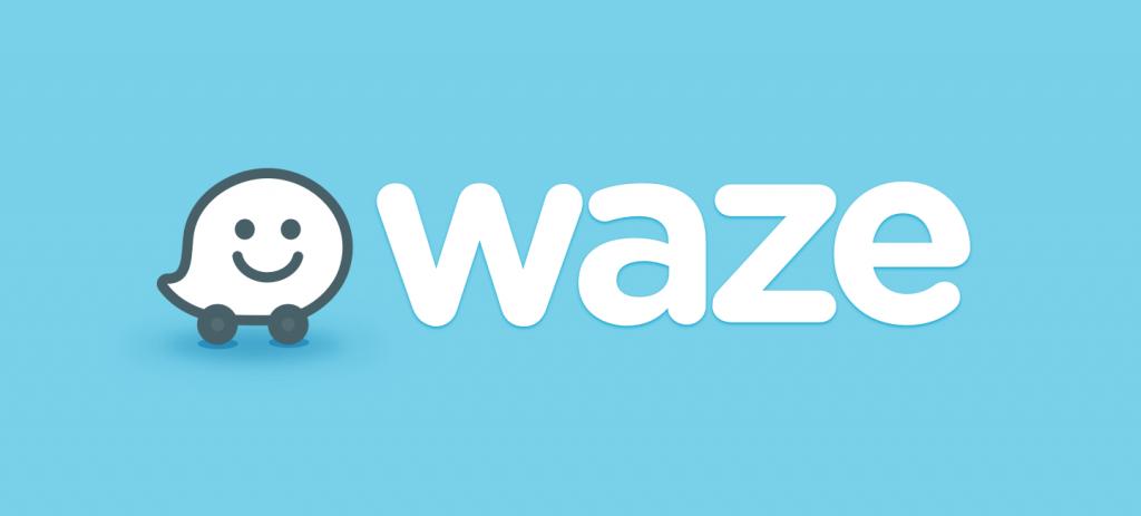 waze logo color